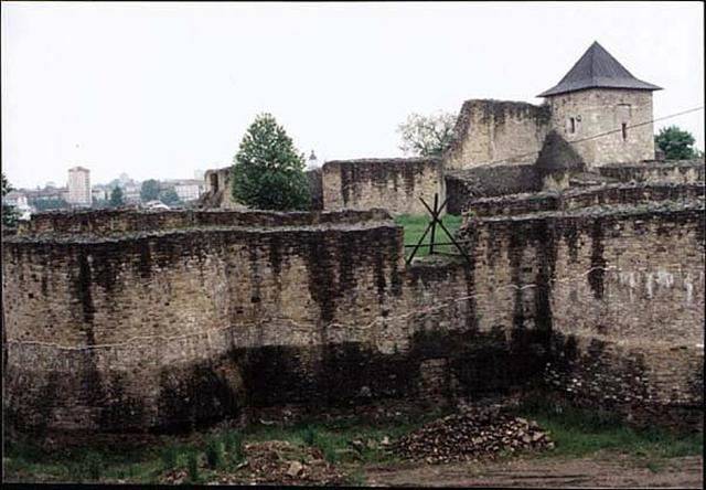 The mighty fortress of Suceava