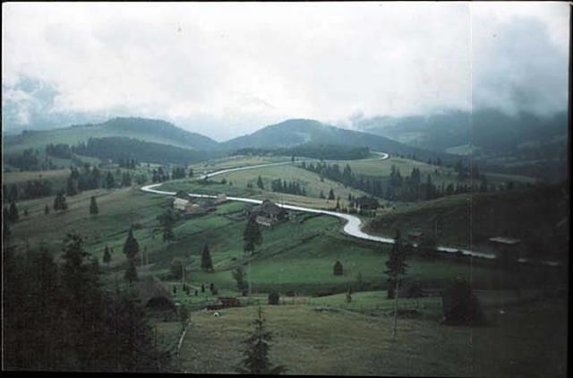 A view of the Borgo Pass