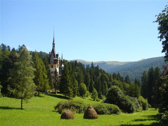 The most beautiful castle in Europe - as our tourists claim - Peles of Sinaia (Romania)