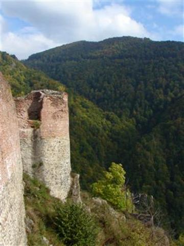 The Fortress Poienari 500 years after