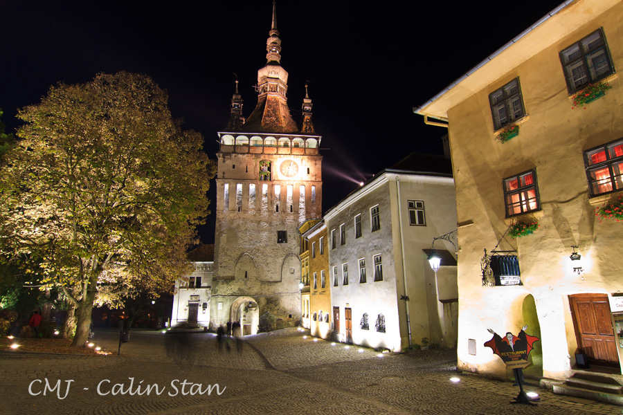 Sighisoara Walled Town Romania